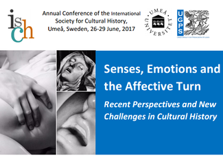 CALL. 31.10.2016 [PANELS]: Senses, Emotions	and the Affective Turn. Recent	Perspectives	and	New Chal