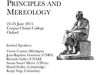 The Metaphysics of the Stoics: Causes, Principles, and Mereology - 23-24/06/2015, Oxford (England)