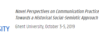 Novel Perspectives on Communication Practices in Antiquity. Towards a Historical Social-Semiotic App