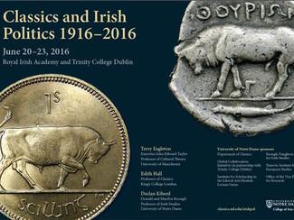 Classics and Irish Politics 1916-2016 - 20-21-22-23/06/2016, Dublin (Ireland)