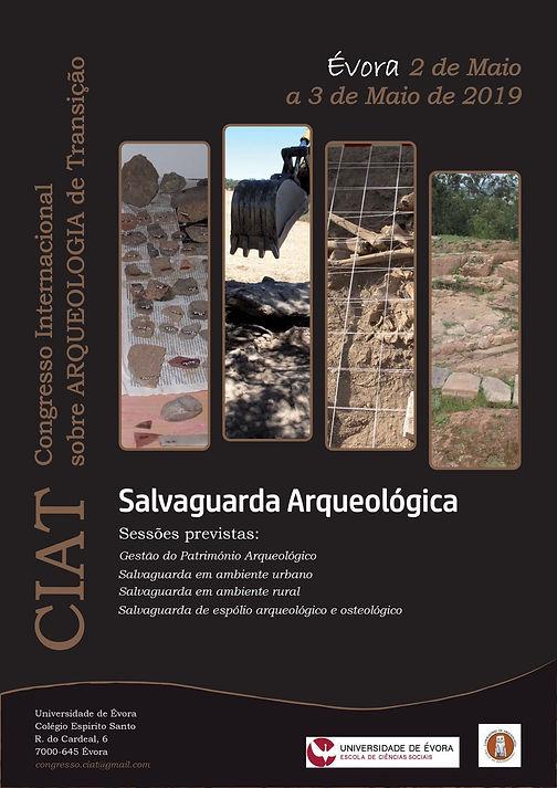 IV Congresso Internacional sobre Arqueologia de Transição: Salvaguarda Arqueológica - 02-03/05/2019, Évora (Portugal)