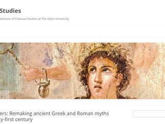 CALL. 18.04.2016: Remaking ancient Greek and Roman myths in the twenty-first century - London (Engla