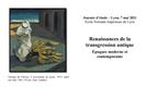 Renaissances de la transgression antique. Epoques moderne et... - 07/05/2021, Lyon (France)
