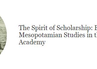 The Spirit of Scholarship: Biblical and Mesopotamian Studies in the Roman Catholic Academy - 22-23-2