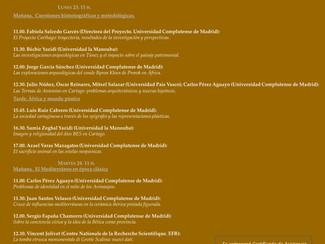 África y el Mediterráneo en época clásica - 23-24/11/2015, Madrid (Spain)