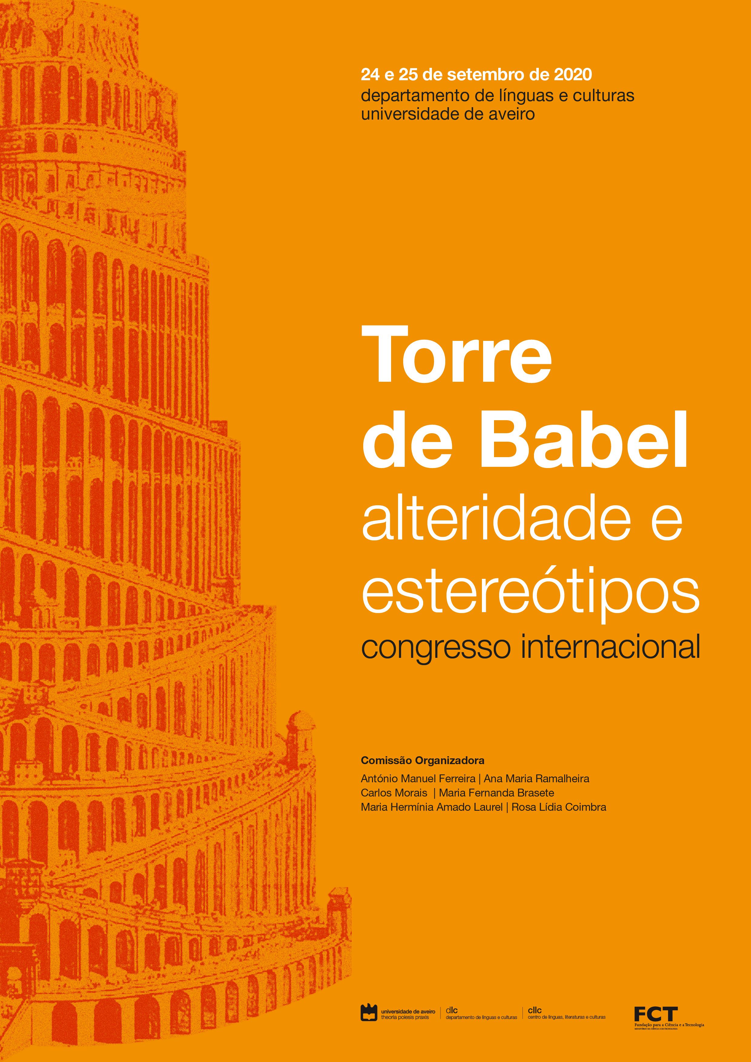 CALL. 15/06/2020: Torre de Babel: a