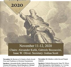 4th Enoch Seminar Colloquium - 11-12/11/2020, (Online)
