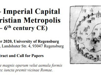 Milan ‒ Imperial Capital and Christian Metropolis (3rd ‒ 6th century CE) - 29-30-31/10/2020,  Regens