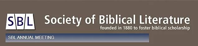 Society of Biblical Literature International Meeting -  05-06-07-08-09/07/2020, Adelaide (Australia)