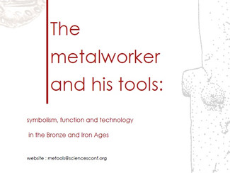 The metalworker and his tools: symbolism, function and technology in the Bronze and Iron Ages - 24-2