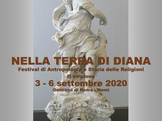 Nella Terra di Diana. Festival di Antropologia e Storia delle Religioni - 03-04-05-06/09/2020, Genza