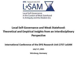 LoSAM 2021: Local Self-Governance and Weak Statehood: Theoretical and Empirical Insights from an Int