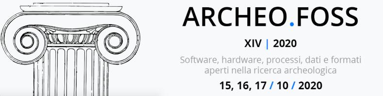 CALL. 30.06.2020. ArcheoFOSS 14