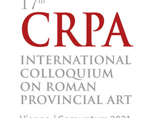 17th International Colloquium on Roman Provincial Art: Time(s) of transition and change - 31/05,01-0