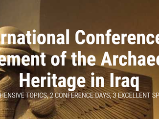 Conference on the Enhancement of the Archaeological Heritage in Iraq -20-21/01/2018, Kufa (Iraq)
