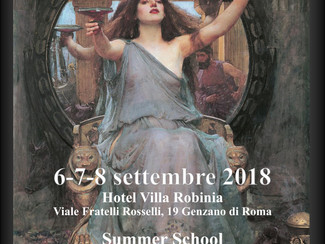 """Summer School """"La Magia nell'Antichità Classica. Documentazione e Metodi di Studio"""" - 06-0"""