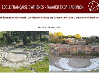 Le théâtre antique en Grèce et en Italie: créations et traditions - 15-16-17-18-19-20-21-23-24-25-26