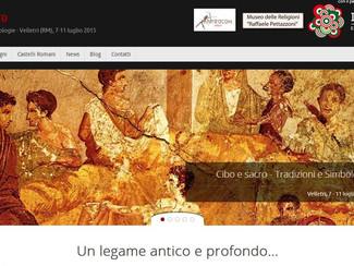 Il Cibo e il Sacro. Tradizioni e Simbologie - 07-08-09-10-11/07/2015, Velletri (Italy)