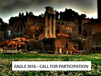 CALL. 27.09.2015: EAGLE 2016 International Conference on Digital and Traditional Epigraphy in Contex