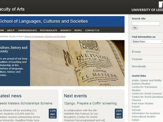 Classical Receptions in the Middle Ages and Renaissance - 22/05/2015, Leeds (England)