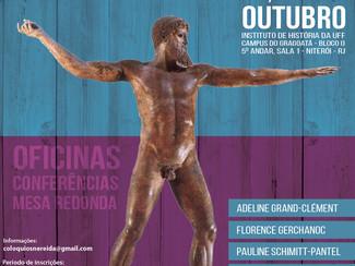 Imagens e Corpo. Representações do Mundo Antigo - 29-30-31/10/2019, Rio de Janeiro (Brasil)