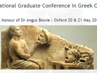 International Graduate Conference in Greek Comedy - 20-21/05/2017, Oxford (England)