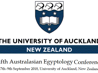 CALL. 15.06.2018: Fifth Australasian Egyptology Conference - Auckland (New Zealand)