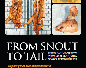 From snout to tail. Exploring the Greek sacrificial animal from the literary, epigraphical, iconogra