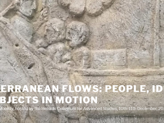Mediterranean Flows: People, Ideas and Objects in Motion - 10-11/12/2020 - (Online)