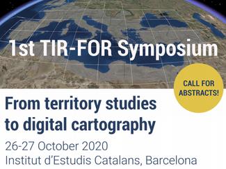 1st TIR-FOR Symposium - 26-27/10/2020, Barcelona (Spain)