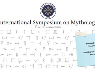 International Symposium on Mythology - 02-03-04-05/05/2019, Ardahan (Turkey)