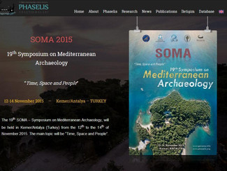 """CALL. 15.09.2015: SOMA 2015. 19th Symposium on Mediterranean Archaeology. """"Time, Space and People"""" -"""