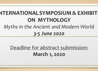 II. Symposium on Mythology (Myths in the Ancient and Modern World) -03-04-05/06/2020, Ardahan (Turke