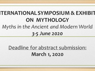 II. Symposium on Mythology (Myths in the Ancient and Modern World) -03-04-05/06/2020, Ardahan (Turke