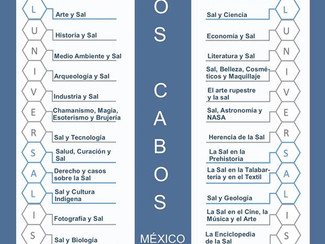 Second International Congress on the Anthropology of Salt - 12-13-14-15-16/10/2017, Los Cabos (Mexic