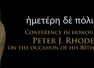 CALL. 14.02.2019: Conference in honour of Peter J. Rhodes on the occasion of his 80th birthday - Coi