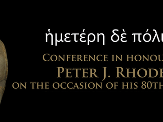 Conference in honour of Peter J. Rhodes on the occasion of his 80th birthday - 10-11/09/2020, Coimbr