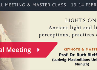 CRASIS Annual Meeting. LIGHTS ON! Ancient light and lighting: Perceptions, Practices and Beliefs - 1