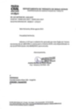 Ofício DETRAN/MG - Cadastro DESPMINAS como Entidade Representativa dos Despachantes