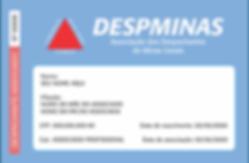 Verso do modelo de documento de identificação funcional