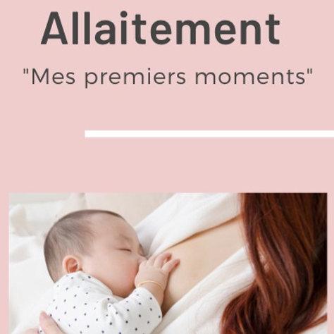 Ebook allaitement Mes Premiers moments