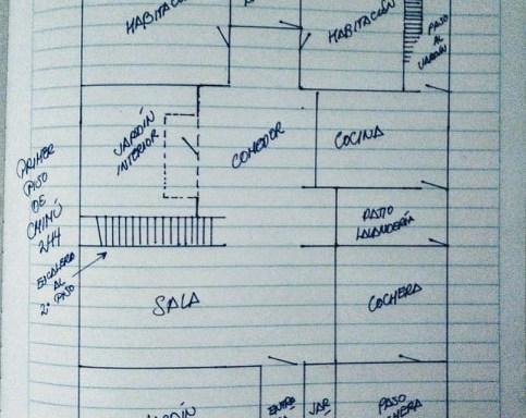 Plano de Frido Martín