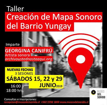 TALLER MAPA SONORO BARRIO YUNGAY - JUNIO