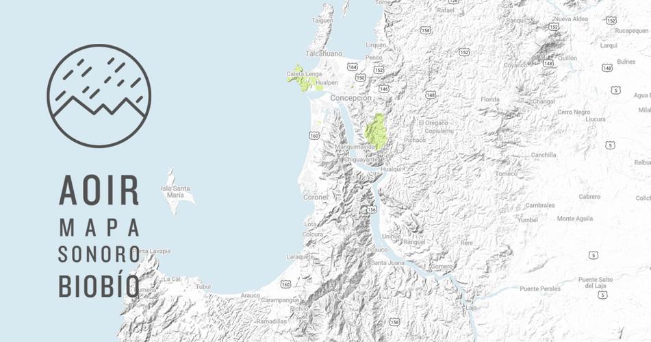 AOIR mapa sonoro del Bio Bío