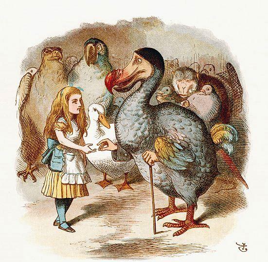 """Ilustracija iz knjige """"Alisa u Zemlji čuda"""", 1890."""