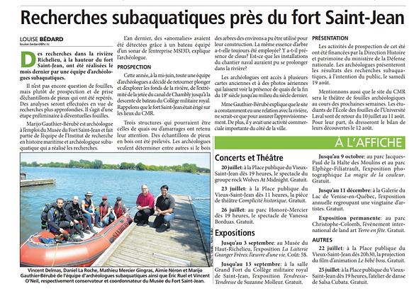 Articles du Canada-Français Août 2018