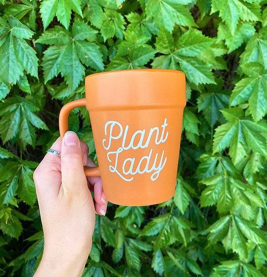 Plant Lady 🌱 Terracotta Pot Mug