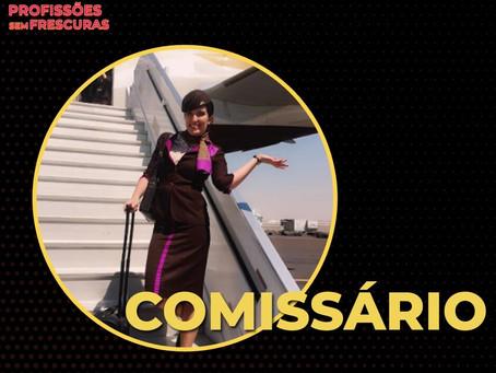 Saiba tudo sobre a carreira de Comissário de Voo
