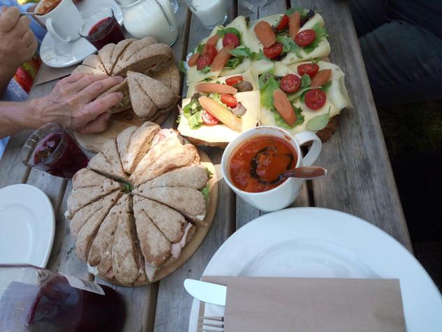 Lunch bij de Onlanderij