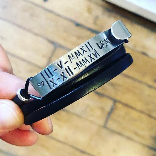 Bracelet Memory, Noir